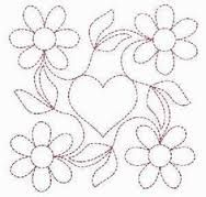 candlewicking patterns for quilts - Google Search