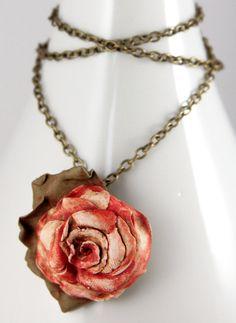 Aging Beauty Necklace by *NeverlandJewelry on deviantART