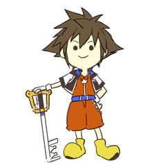 Umm... Too cute not to pin! XD Sora gif