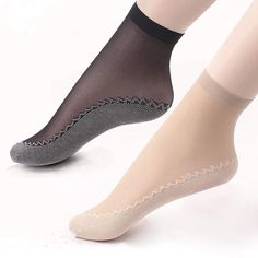 44d8524e779 5Pairs Summer Thin Short Socks Women Female Girls Ankle Socks Bottom Thick  Socks Wear-Resistant