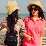 Stunning Beach Pictures of Chic Aiman Khan and Beautiful Minal Khan Styles Besties, Bff, Cool Dpz, Pakistani Models, Aiman Khan, Best Friends Forever, Beach Pictures, Panama Hat, Beautiful Pictures