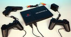 video game polystation 2 + jogos, 2 controles e 1 pistola