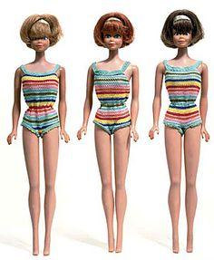 Midge 1965 --ma première poupée mannequin rapportée des USA par mon père