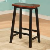 "Found it at Wayfair - Aloha 29"" Stool in Oak and Black"