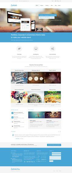 Centindu Portfolio & Shop WordPress Theme • Download ➝…