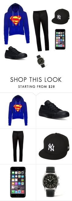 """Dante gismondi (boyfriend)"" by avarosso ❤ liked on Polyvore featuring Converse, Maison Margiela, New Era, Off-White, Longines, men's fashion and menswear"