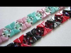 Tango beaded bracelet - Tutorial - YouTube