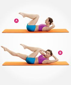 Tighten your abs with this Pilates move--and 8 more awesome exercises that help flatten your stomach: http://www.womenshealthmag.com/fitness/pilates-abs?cm_mmc=Pinterest-_-womenshealth-_-content-fitness-_-9pilatesmovesforflatterabs
