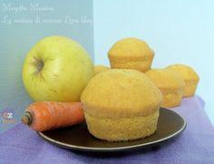 Muffin mela e carota ricetta senza grassi