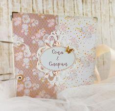 Ellienette: Ein Hochzeitsalbum Scrapbook, Creative, Scrapbooking, Guest Books, Scrapbooks