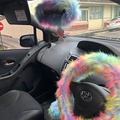 Dream cars images are offered on our web pages. Have a look and you wont be sorry you did. My Dream Car, Dream Cars, Fuzzy Steering Wheel Cover, Automotive Carpet, Cute Car Accessories, Girly Car, Cute Cars, Rear View Mirror, My Ride