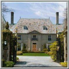 Champ Soleil Mansion, Newport Rhode Island