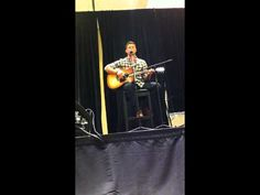 Jensen Singing at TorCon.  Just melts all the butter... & makes me cry... Every time I watch it.  I hope he sings at Burcon...