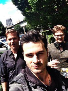 "(Michael Malarkey) Dude, where's my car? @zach_roerig @ErnestoRiley (Zach Roerig & Matthew ""Matt"" Davis)"