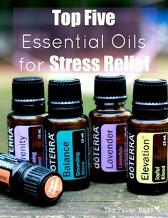 Top 5 Essential Oils for Stress Relief http://mydoterra.com/essencedelavie