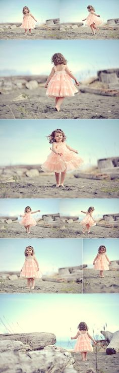 Don't have just set poses, let them dance around and play for some fantastic photo opportunities - toddler photos