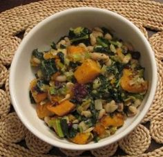 Friends of Animals - Butternut Squash, White Bean and Kale Ragout