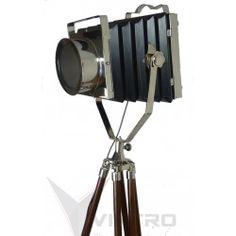 Vegas  Tripod Spotlight Nautical Lamps, Nautical Design, Tripod Lamp, Telescope, Floor Lamp, Spotlight, Vegas
