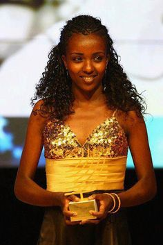Tirunesh Dibaba, an Oromo woman 10,000 and 5000km double Olympic winner (Beijing and London). http://en.wikipedia.org/wiki/Tirunesh_Dibaba