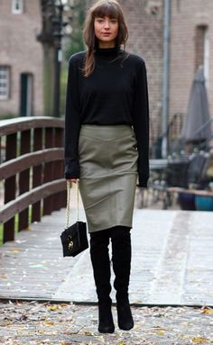 Как и с чем носить юбки в межсезонье   Stilouette Услуги стилиста онлайн, в Германии и во Франкфурте