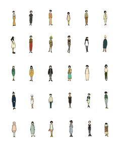 illustration + ilustração + style + fashion People Cutout, Cut Out People, Architecture People, Architecture Graphics, Architecture Design, People Figures, Hand Sketch, Urban Sketching, Drawing People