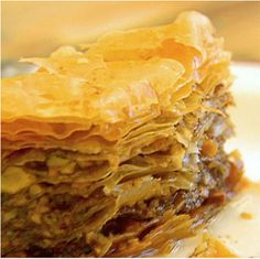 Baklava. This recipe is explained very well and makes it seem not so daunting, if you have never made it before.  Definitely worth the effort!!