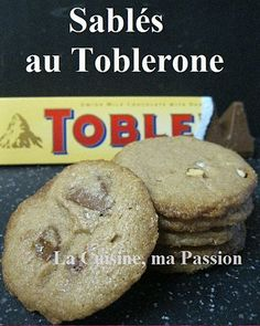 Sablés au Toblerone