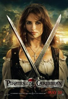Character posters for Pirates of the Caribbean: On Stranger Tides starring Johnny Depp, Penelope Cruz, Geoffrey Rush, and Ian McShane. Long John Silver, Captain Jack Sparrow, Pirate Woman, Pirate Life, Johnny Depp, Film Pirates, On Stranger Tides, Pirates Of The Caribbean, Caribbean Art