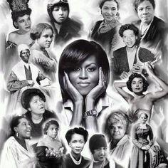 African American Women Representing Change... Love!