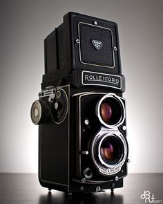 Rolleicord: I bought one of these just as digital took off, and I took the road marked 'the future'
