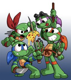 Ninja Turtles by Coffgirl.deviantart.com on @DeviantArt