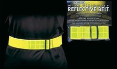 Jogalite High Visibility Reflective belt - Lime by Jog A Lite. $21.60