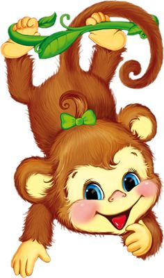 Ideas for baby animals tattoo pictures Baby Animal Drawings, Art Drawings For Kids, Cute Drawings, Art For Kids, Cartoon Monkey, Cute Cartoon, Baby Animals, Cute Animals, Monkey Tattoos