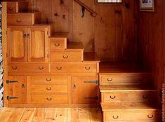 Купить Шкафчик под лестницей - коричневый, шкаф, Шкафчик, шкафы, шкаф-купе, лестница, ниша