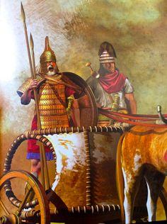 Nestore re di Pilo incita i suoi uomini e gli achei tutti aa non soffermarsi a spogliare i cadaveri dei troiani, ma piuttosto ad ucciderne molti altri ancora.