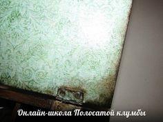 Онлайн-школа: Мастер-класс Имитация структуры дерева с помощью битума - Интернет-магазин товаров для рукоделия и сувениров ручной работы Полосатая клумба, Челябинск