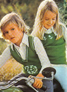 1970s Children's Fashions Vintage Kids Fashion, Kids Fashion Boy, 70s Fashion, Vintage Children, Teen Fashion, Vintage Outfits, 70's Style, Girl Style, 90s Girl