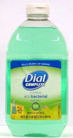 Refill for Dial Foaming Hand Soap with Fresh Pear Scent Antimicrobial Soap, Amazon Beauty Products, Liquid Hand Soap, Hand Washing, Pear, Hands, Fresh, Hand Soaps, Bottle