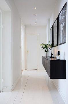Extra förvaring i en smal korridor eller hall – HOH