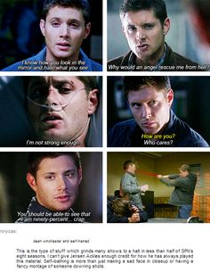[Gifs] Jensen is the best actor in the world !
