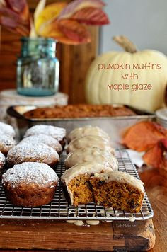 Pumpkin Muffins with