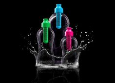Bobble Water Bottle - Faster than a Brita Filter, and cheaper than a Brita Filter pitcher.  Good way to make sure the dorm water is clean! $12.99 for 34oz, $9.99 for 18.5oz.