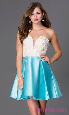 8cd1f5eba4d Full-Figure Dresses and Plus-Size Prom Gowns -PromGirl - PromGirl