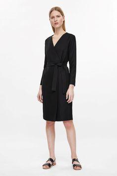 $125 COS Wrap dress with tie