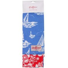 - イギリス雑貨と紅茶とハーブティーのお店 English Specialities Mono Boat Blue/Stencil red
