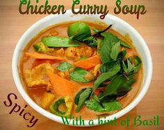 New improved Thai Chicken Curry Visit us at  www.facebook.com/asiangardeningleside Or 361-776-7778 2731 Main St Ingleside, Texas Dine-In, Take-Out, Delivery or Party Trays Thai Chicken Curry, Thai Red Curry, Party Trays, Ingleside Texas, Spicy, Soup, Dining, Ethnic Recipes, Delivery