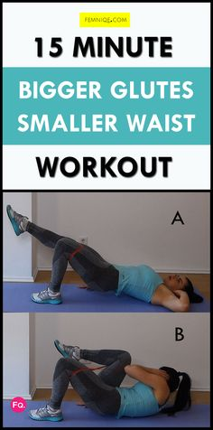 Want to change things up a bit? If you want to add some spice to your smaller waist and bigger butt routine then you're going to love this 15 minutes at-home workout. It's very beginner friendly and doesn't involve any explosive movement. Which makes it perfect for persons who have knee issues.