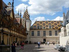 The Hospices de Beaune or Hôtel-Dieu de Beaune - France