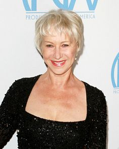 I love Helen Mirren. Could I pull of this hair style?