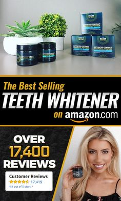 The Best Selling Teeth Whitening product on Amazon.com with over 17,000 reviews